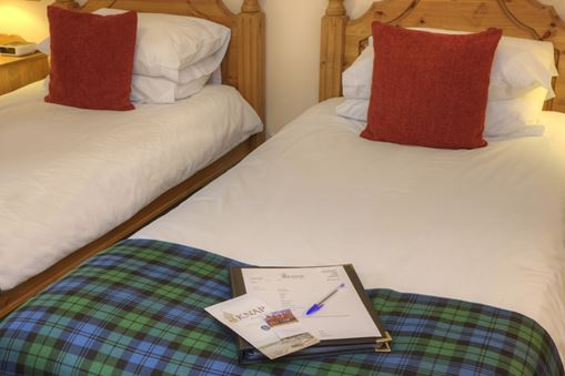 Clan Cambell Twin Room